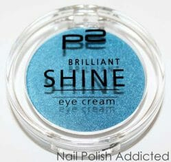Produktbild zu p2 cosmetics brilliant shine eye cream – Farbe: 060 bombastic blue