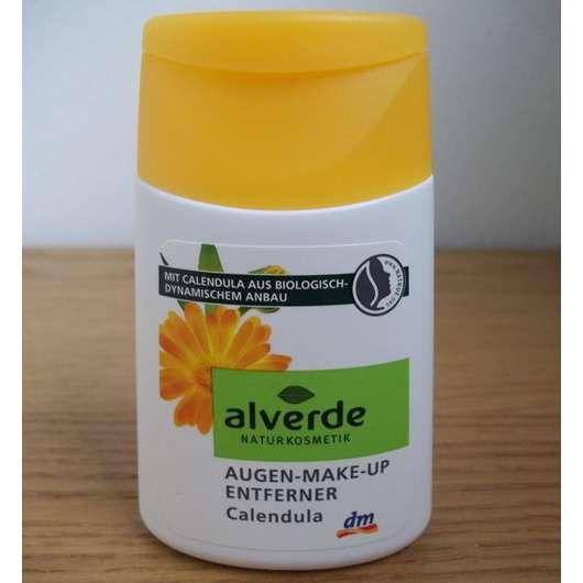 alverde Augen-Make-Up Entferner Calendula