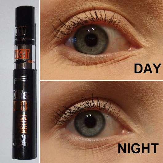 p2 day & night lash artist mascara, Farbe: 010 forever black