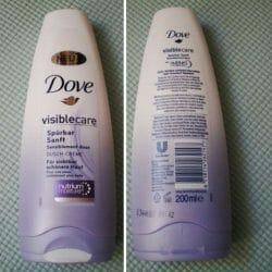 Produktbild zu Dove Visible Care Spürbar Sanft Dusch-Creme