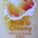 duschdas Fruit & Creamy Duschgel mit Frucht-Extrakt & Milch