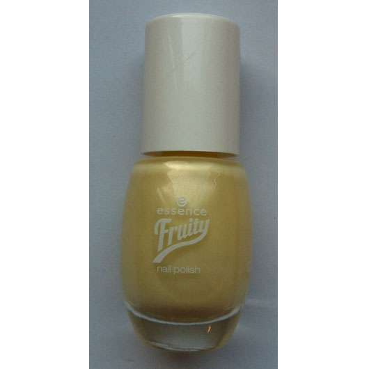 essence fruity nail polish, Farbe: 01 banana joe (LE)