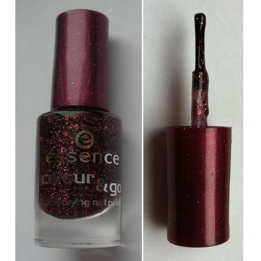 essence colour & go quick drying nail polish, Farbe: 72 time for romance