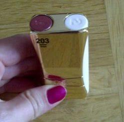 Produktbild zu L'ORÉAL PARiS Indefectible Kompakt-Lippen-Duo – Farbe: 203 Golden Grape