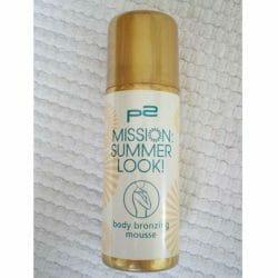 Produktbild zu p2 cosmetics mission summer look! body bronzing mousse (LE)