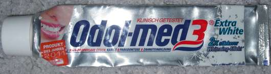 Odol-med 3 Extra White Zahnpasta