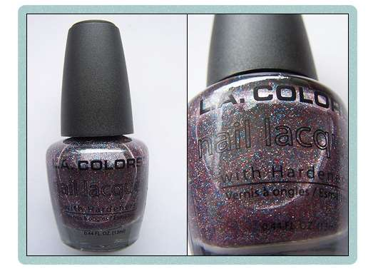<strong>L.A. Colors</strong> Nail Lacquer With Hardeners - Farbe: NP263 Rainbow Glitter