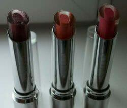 Produktbild zu AVON Shine Attract Lipstick – Farbe: Plumberry/Rose Bouquet/Happy Pink