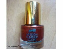 Produktbild zu p2 cosmetics mission summer look! metal & shine nail polish – Farbe: 050 long beach ice tea (LE)