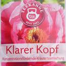 "Teekanne ""Klarer Kopf"" Konzentrationsfördernde Kräuterteemischung"