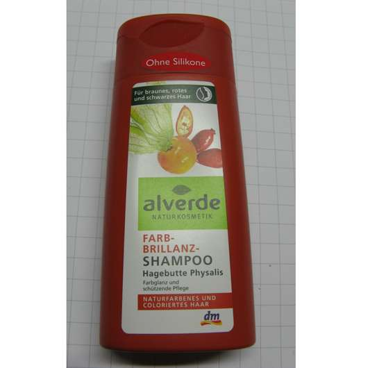 alverde Farb-Brillianz-Shampoo Hagebutte Physalis