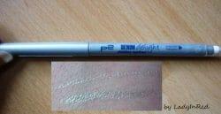 Produktbild zu p2 cosmetics denim delight slimline eyeliner – Farbe: 010 silver mist (LE)
