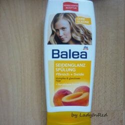 Produktbild zu Balea Seidenglanz Spülung Pfirsich + Seide