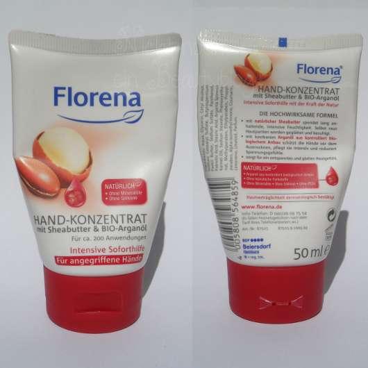 Florena Hand-Konzentrat mit Sheabutter & Bio-Arganöl