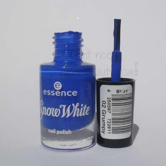 essence snow white nail polish, Farbe: 02 grumpy (LE)