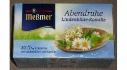 Produktbild zu Meßmer Abendruhe Lindenblüte-Kamille