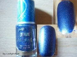 Produktbild zu p2 cosmetics denim delight jean-ious nail polish – Farbe: 030 indigo denim (LE)