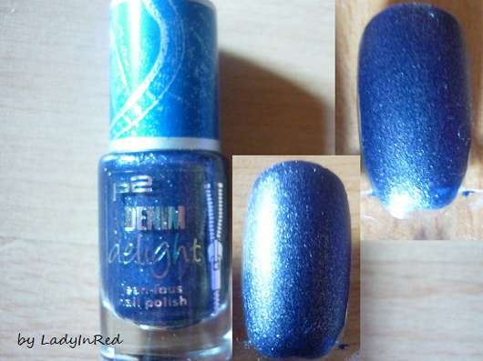 p2 denim delight jean-ious nail polish, Farbe: 030 indigo denim (LE)