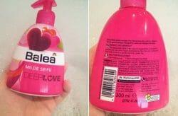 "Produktbild zu Balea Milde Seife ""Deep Love"""