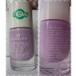 Produktbild zu essence show your feet toe nail polish – Farbe: 16 miss lavender