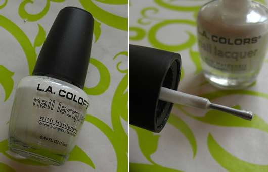 <strong>L.A. Colors</strong> Nail Lacquer With Hardeners - Farbe: French White