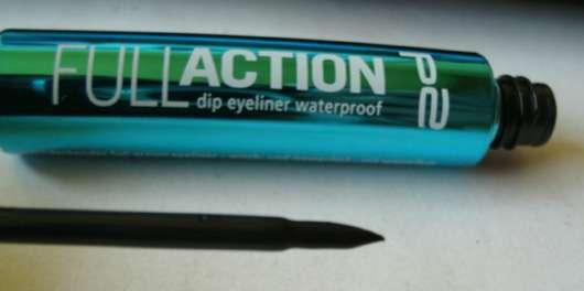 p2 full action dip eyeliner waterproof