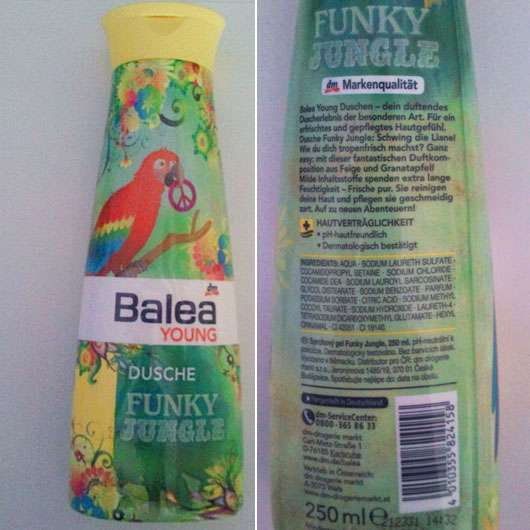 Balea Young Dusche Funky Jungle (LE)
