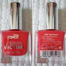 p2 color victim nail polish, Farbe: 640 heartbeat