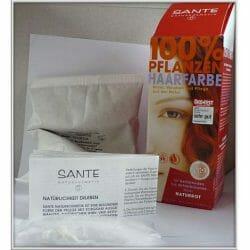 Produktbild zu SANTE 100% Pflanzen-Haarfarbe – Farbe: Naturrot