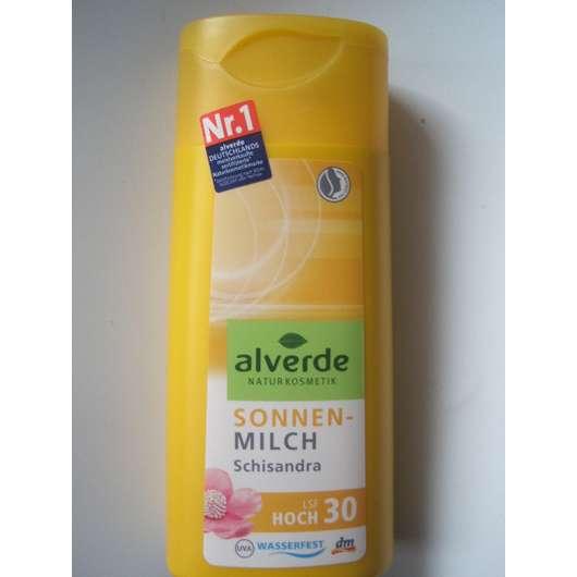 alverde Sonnenmilch Schisandra LSF 30