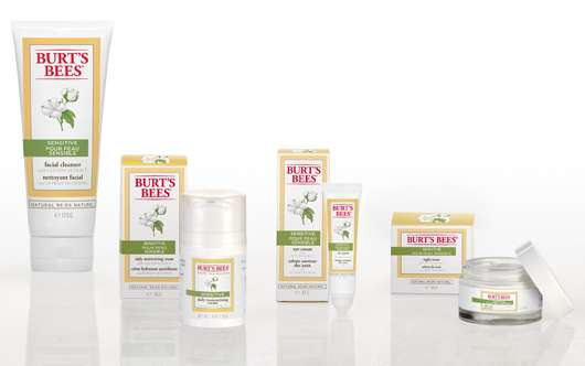 Burt's Bees Sensitive Skin Care Range