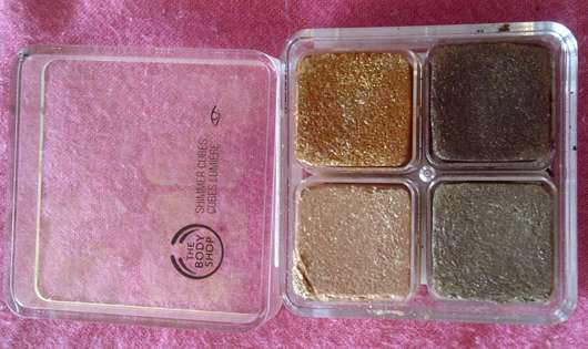 The Body Shop Shimmer Cubes Palette, Farbe: 06 Warm