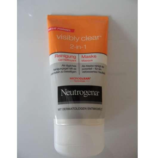Neutrogena Visibly Clear 2-in-1 Reinigung & Maske