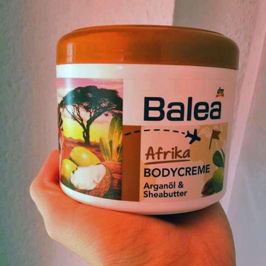 Balea Afrika Bodycreme Arganöl & Sheabutter