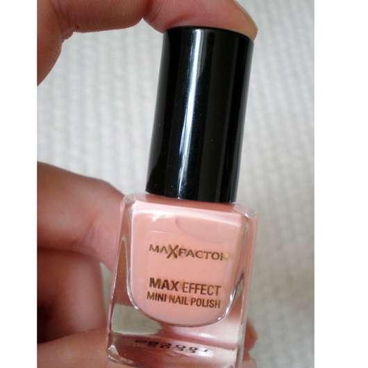 Max Factor Max Effect Mini Nail Polish, Farbe: 28 Pretty in Pink