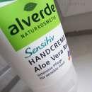 alverde Sensitiv Handcreme Aloe Vera Reis
