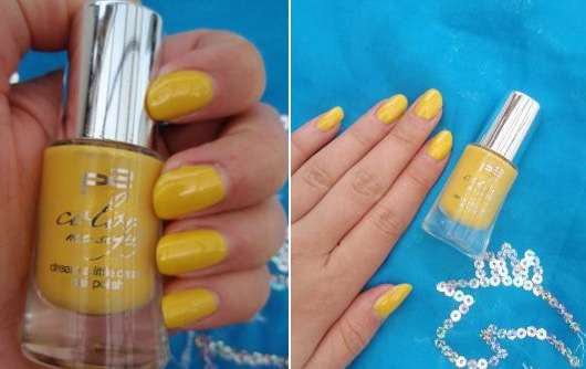 p2 color me softly dream a little dream nail polish, Farbe: 010 pearly yellow (LE)