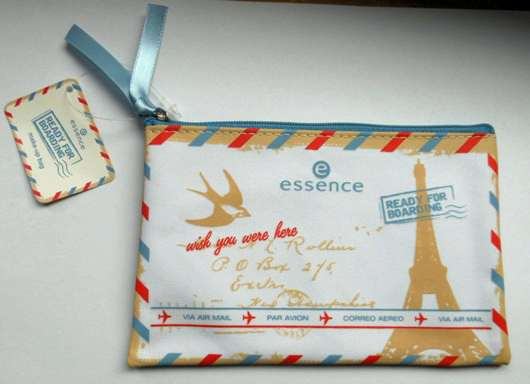 essence ready for boarding cosmetic bag (LE)