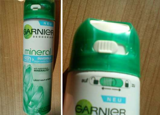 <strong>Garnier mineral</strong> Deodorant Anti-Transpirant Spray 48h Invisible
