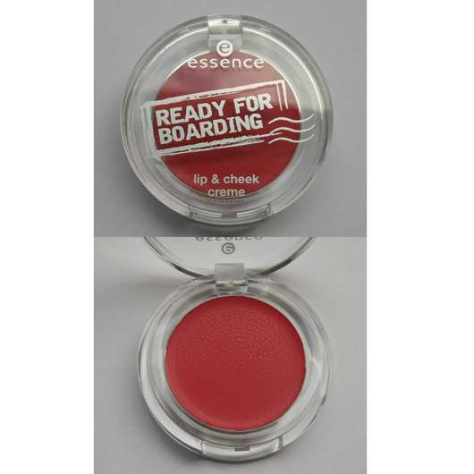 essence ready for boarding lip & cheek creme, Farbe: 01 sending you kisses (LE)
