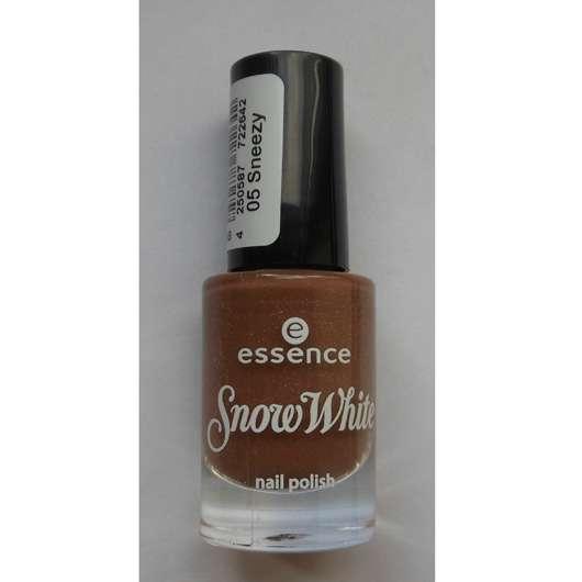essence snow white nail polish, Farbe: 05 sneezy (LE)