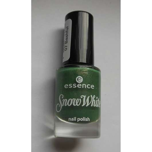 essence snow white nail polish, Farbe: 07 bashful (LE)