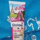 Balea Europa Fußschimmercreme Perlen-Extrakt & Sheabutter (LE)