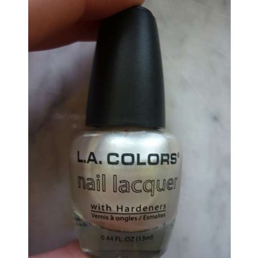 <strong>L.A. Colors</strong> Nail Lacquer With Hardeners - Farbe: NP125 Pearl