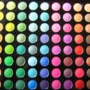 Lenka Kosmetik 88 Lidschatten Farben Matt