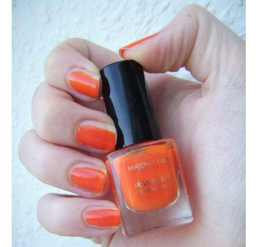 Max Factor Max Effect Mini Nail Polish, Farbe: 25 Bright Orange