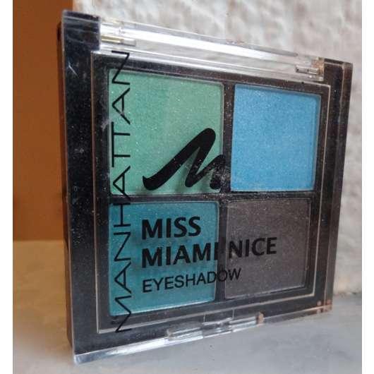 Manhattan Miss Miami Nice Eyeshadow Quattro, Farbe: 1 Aquarium (LE)