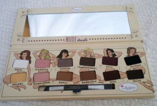 <strong>The Balm</strong> Nude 'tude Nude Eyeshadow Palette - Farbe: Feeling Naughty