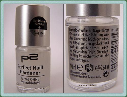p2 Perfect Nail! Hardener