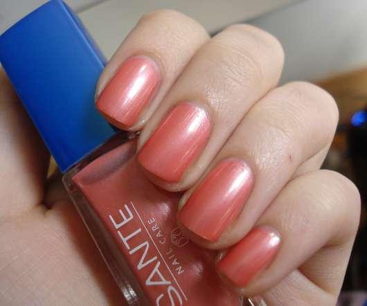 SANTE Nagellack, Farbe: 12 Shiny Apricot